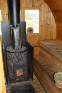 Mustaluodon sauna
