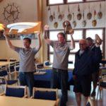 H-veneiden ranking-sarjasta mestaruus ja kolmas sija Naantaliin